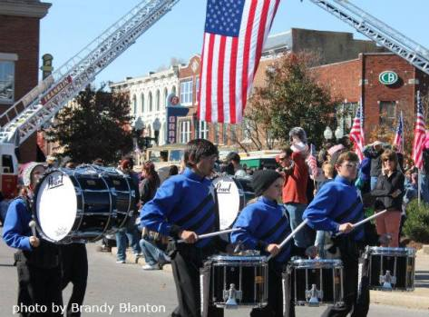 veterans day parade band