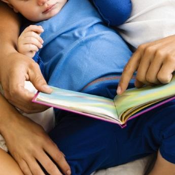 Family reading.